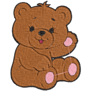 Matriz de Bordado Urso 02