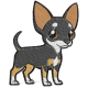 Matriz de Bordado Cachorro Pinscher