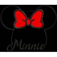 Matriz de Bordado Aplique Minnie