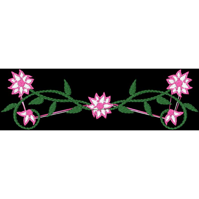 Matriz De Bordado Flores Pequenas 1