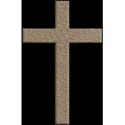 Matriz de Bordado cruz 1