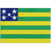 Matriz de Bordado Bandeira do Estado de Goiás