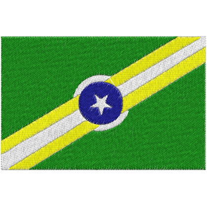 Matriz de Bordado Bandeira do Piauí