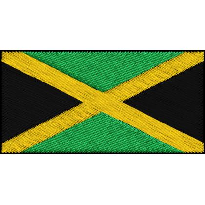 Matriz de Bordado Bandeira da Jamaica
