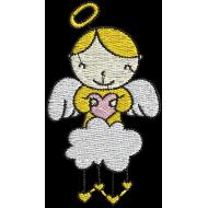 Matriz de Bordado Anjo Carinhoso