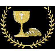 Matriz de Bordado Cálice e Pão