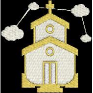 Matriz de Bordado Igreja