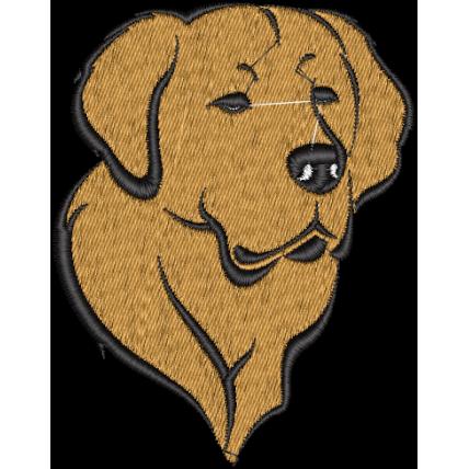 Matriz de Bordado Cachorro Golden