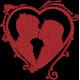 Matriz de Bordado Coração 01