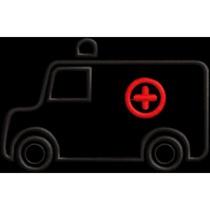Matriz de Bordado Ambulância