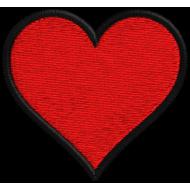 Matriz de Bordado Coração 04