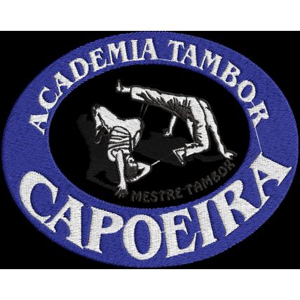 Matriz de Bordado logo Academia Tambor Capoeira