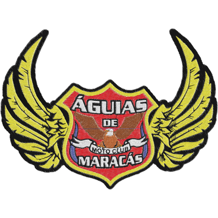 Matriz de Bordado Logo  Moto Club