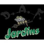 Matriz de Bordado logo D A F JARDIM