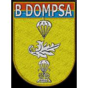 Matriz de Bordado logo  B DOMPSA