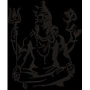 Matriz de bordado Shiva