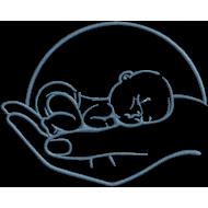 Matriz de Bordado Bebê 10