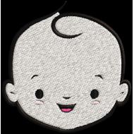 Matriz de Bordado Bebê 7