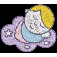 Matriz de Bordado Bebê 9