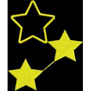 Matriz de Bordado Estrelas