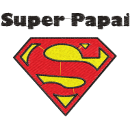 Matriz de Bordado Super Papai