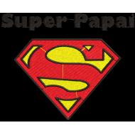 Matriz de Bordado Super Papai