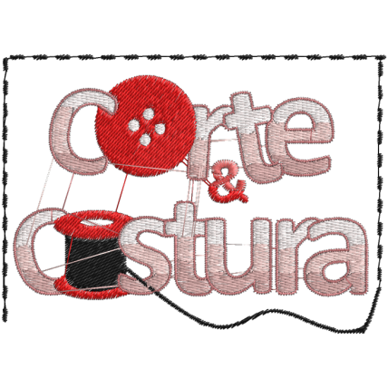 Matriz de Bordado Corte e Costura