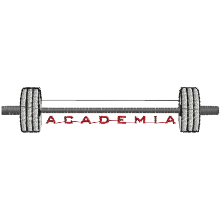 Matriz de Bordado Logotipo academia 2