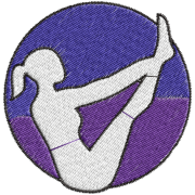 Matriz de Bordado Logotipo Pilates