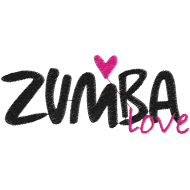 Matriz de Bordado Logotipo zumba 2