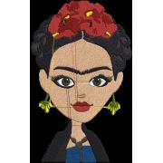 Matriz de Bordado Frida 2