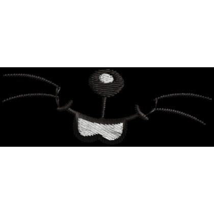 Matriz de Bordado para Mascara de proteção Boquinha do Sansão