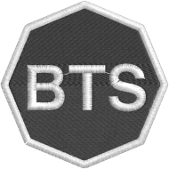 Matriz de Bordado BTS Logotipo