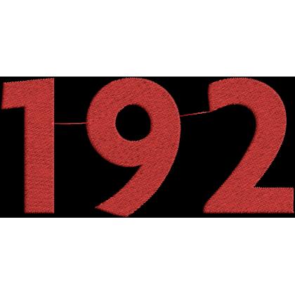 Matriz de Bordado Símbolo do 192
