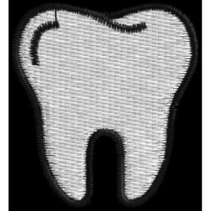 Matriz de Bordado Dente