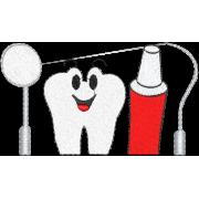 Matriz de Bordado Dentista 2