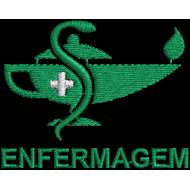 Matriz de Bordado Simbolo de Enfermagem 3