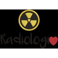 Matriz de Bordado Eu Amo Radiologia