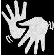 Matriz de Bordado Símbolo de Libras
