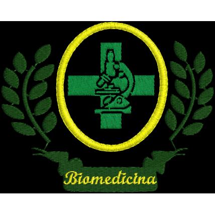 Matriz de Bordado Simbolo de Biomedicina 2