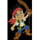 Matriz de Bordado Jake o Pirata