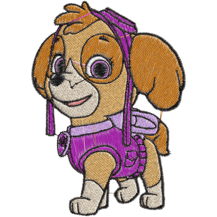 Matriz de Bordado Skey Patrulha Canina