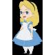 Matriz de Bordado Alice no Pais das Maravilhas