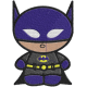 Matriz de Bordado Batman Baby