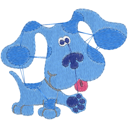 Matriz de Bordado Blue Cachorro