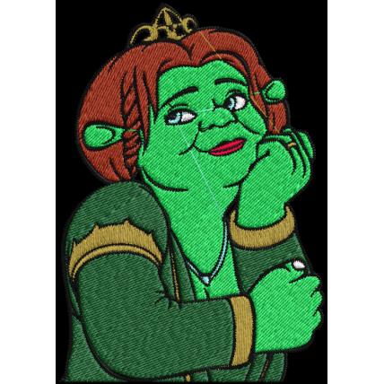 Matriz de Bordado Princesa Fionda
