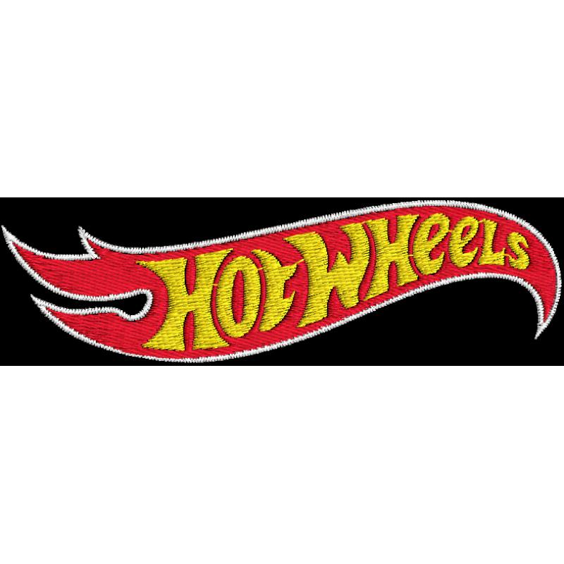 matriz de bordado logotipo hotwheels. Black Bedroom Furniture Sets. Home Design Ideas