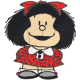 Matriz de Bordado Mafalda