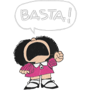 Matriz de Bordado Mafalda  2