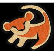 Matriz de Bordado Rei Leão Simba